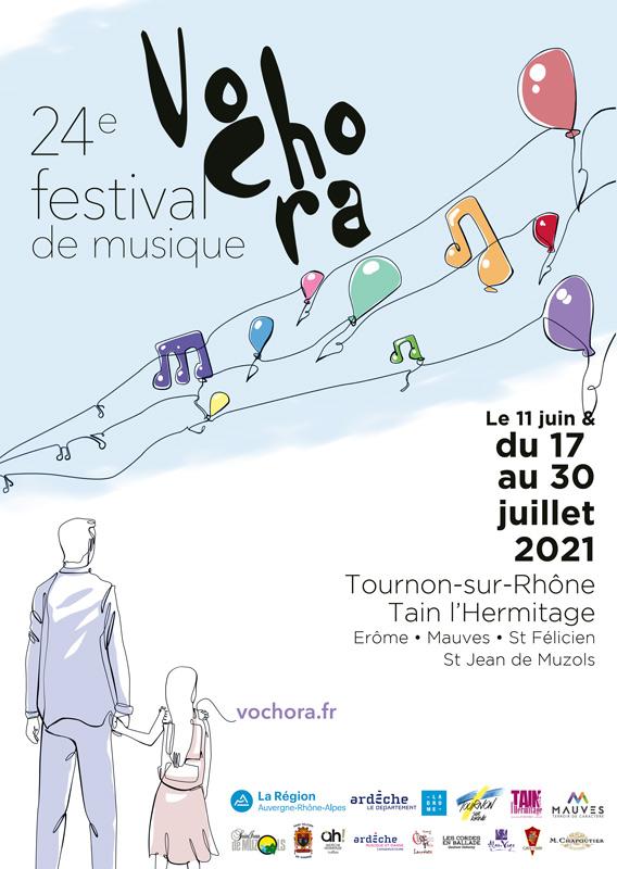 Affiche du 24e festival Vochora